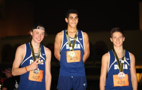 Following a night filled with remarkable efforts on the MIA park race track, the podium was taken up by Dragon blue jerseys across all distances.