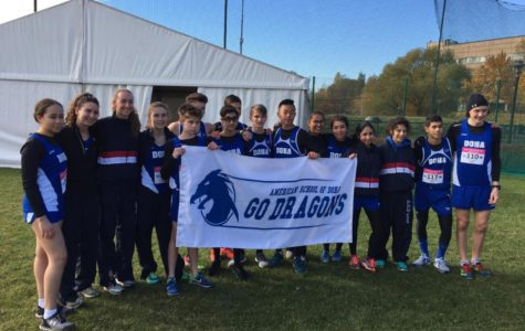 The boys cross country earned 1st place finish at the CEESA XC competition in Moscow, while the girls took 2nd overall.