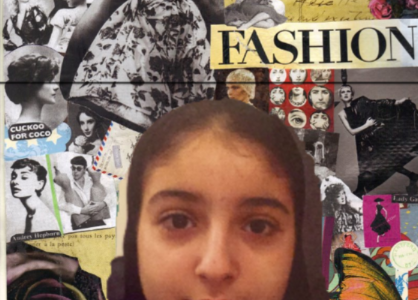 8th grade aspiring fashion designer: L. Al Derbasti ('24)