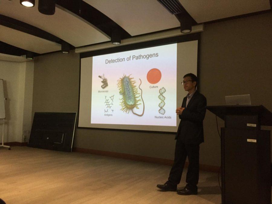 Dr. Tang explains how doctors detect pathogens.