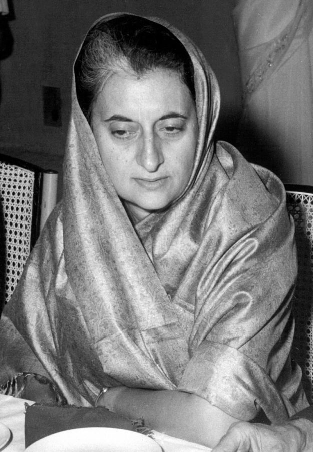 Indira Ghandi was India's Prime Minister in 1967.