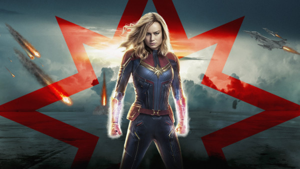 Captain Marvel's official poster