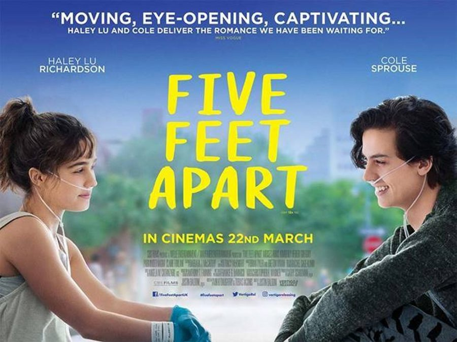 Five Feet Apart's movie poster.