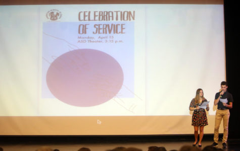 ASD celebrates third year of new service learning