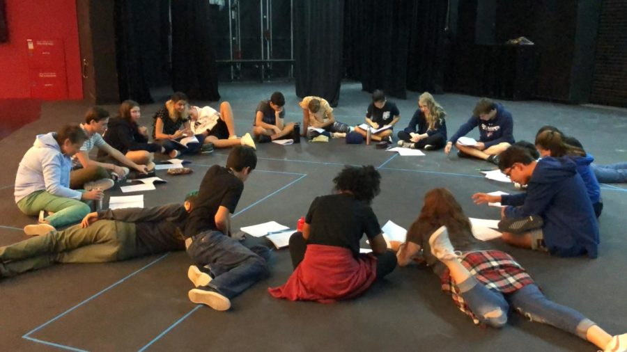 The+musical+cast+completes+their+first+group+read-through+of+the+script.
