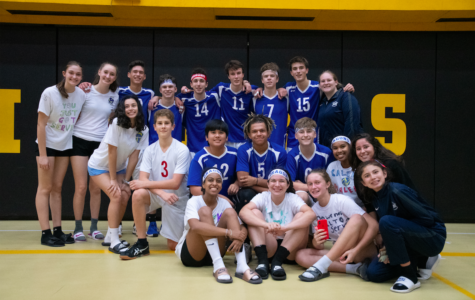 JV volleyball team's winning weekend at MESAC
