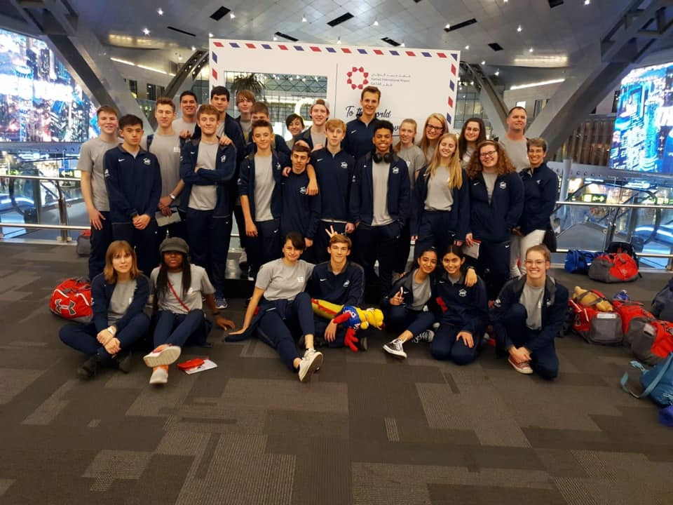 This year's ASD Dragon swimmers traveled all the way to Shanghai on an overnight flight from Hamad to compete in their season-ending meet. Lots of travel and wait time strengthened bonds among an already tight-knit group.
