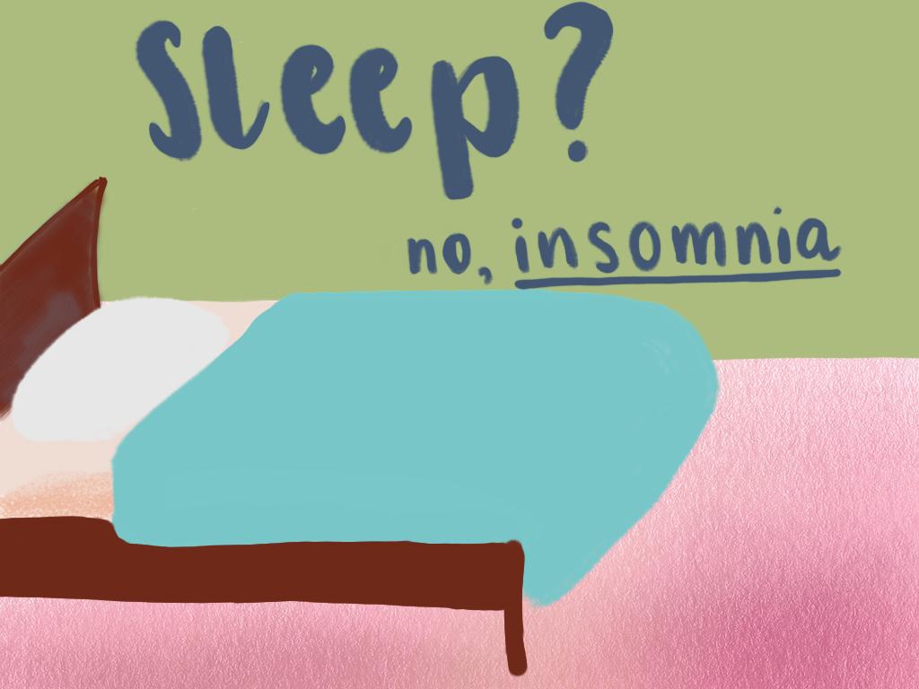 Sleep . . . so good. So . . . far away . . .