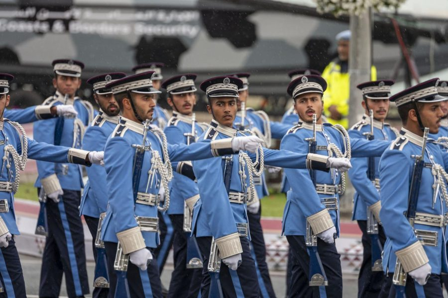 Most ASD seniors plan to go on to four-year university programs in the West, or possibly in the Gulf region. However, a small number will follow different paths. Some, like these young Qatari military cadets, will at least temporarily try something that varies from the ASD norm.