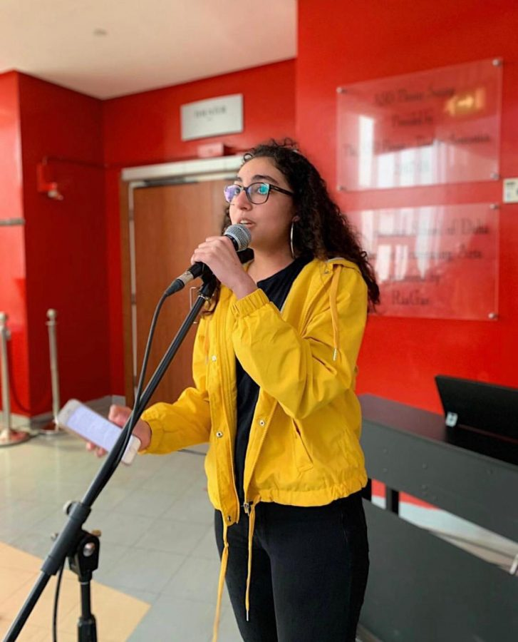 Talented arts students such as R. Ibraheem have provided ASD audiences hours of enjoyment in multiple performances. Here's a glimpse of a her and few others.
