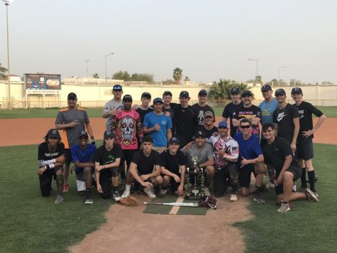 The varsity baseball team finished second in the annual Booster Club softball team this year. Though they enjoyed the camaraderie and fun of the weekend, it