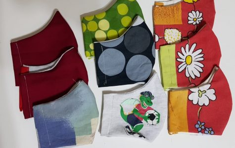 Like many countries, Qatar has advised and now mandated that residents wear face masks outside their homes. Authorities have also asked that we reserve medical and surgical masks for health care professionals. ASD parent Svenja Hampel's masks are filling a real need while also enabling ASD students and parents to show some school spirit or splashes of color.