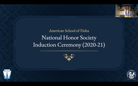 Virtual 2020-21 induction ceremonies for ASD's honor societies